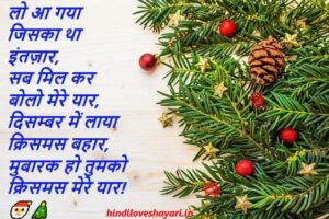 merry christmas wishes in hindi for whatsapp