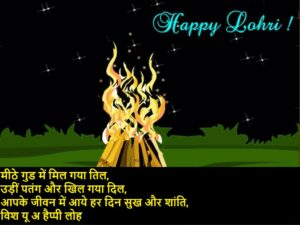 lohri wishes in hindi2021