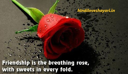 happy rose day quotes in hindi for best friends