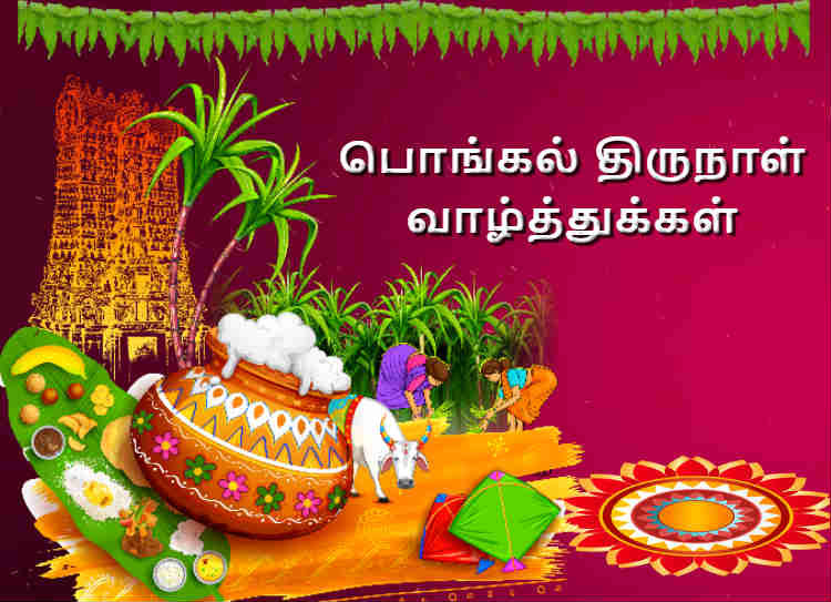 Happy pongal wishes in tamil 2021